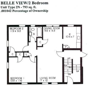 Belle-View-2BR-type-2N