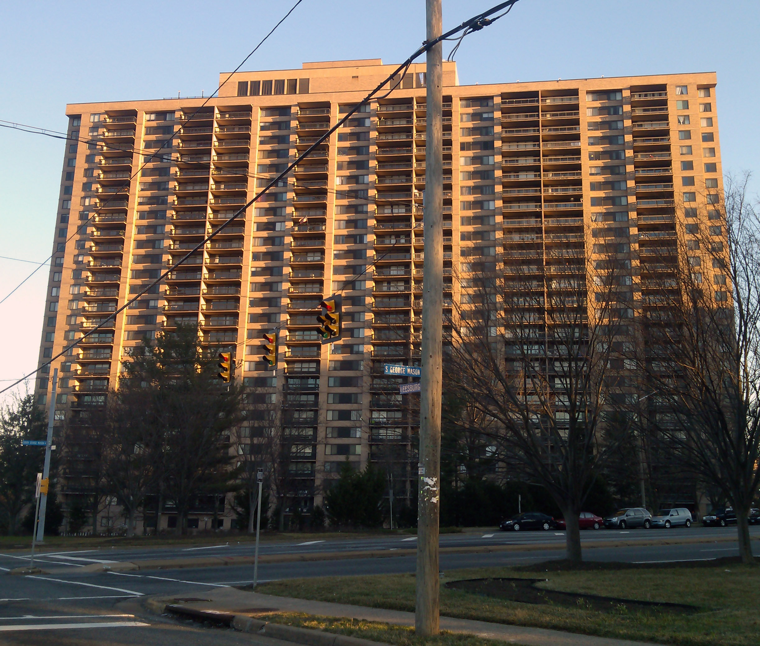 Skyline Plaza is a high rise condominium