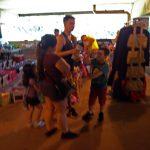 Stuart Nesbitt with family shopping in Arlington