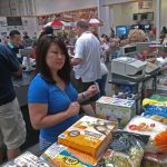 Julie Nesbitt grocery shopping