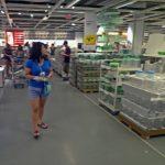 Julie Nesbitt furniture shopping in Ikea