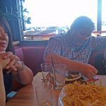 Family meal at Matchbox