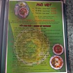 Viet House Restaurant menu