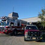 Fairfax 411 County fire truck