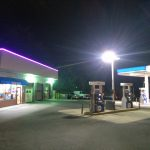 food mart and pumped gasoline