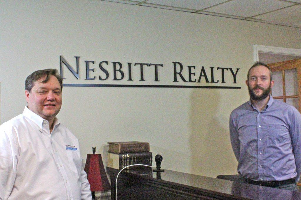 Will Nesbitt with Andrew Patton