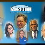 Team Nesbitt, Will Nesbitt, Nora Yelland, Julie Nesbitt, Alain Clerinx, Andrew Patton, Ronald Ginyard Sr., Stuart Nesbitt