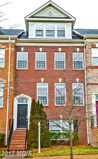 Luxury brick townhouse