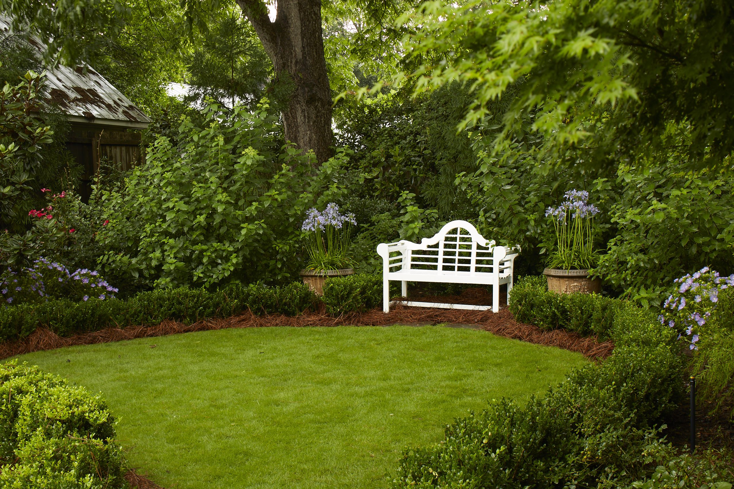 Porches and Gardens perennial garden